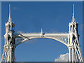 TQ2777 : Detail of Albert Bridge by Stephen Richards