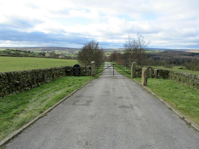 Entrance to Cooper House Farm and Barns