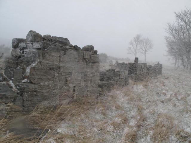 The ruin of Hillhead