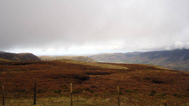 Fences on Blake Fell