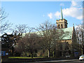 TQ4076 : St James church, Kidbrooke by Stephen Craven