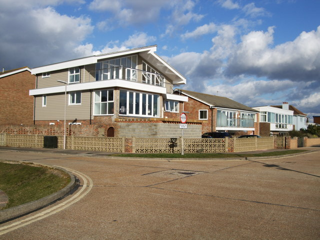 Houses on West Beach Road