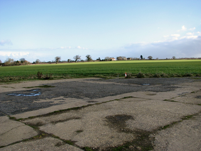 View towards Britannia Cottages, Ludham