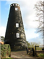 TG3719 : How Hill tower mill, Ludham by Evelyn Simak
