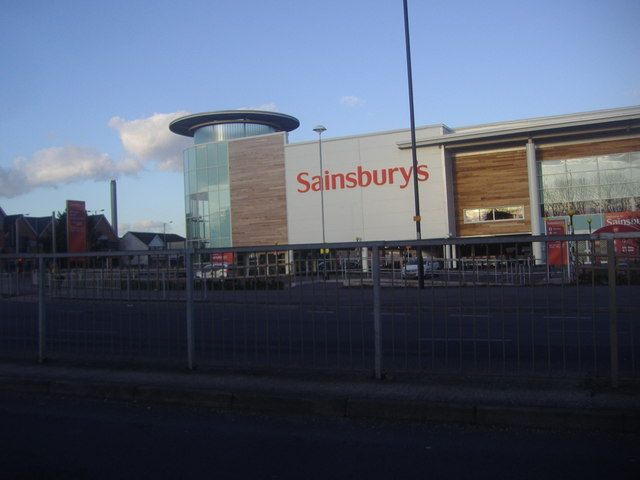 Sainsbury's supermarket, Bath Road