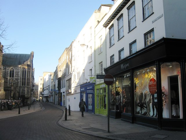 Sidney Street, Cambridge