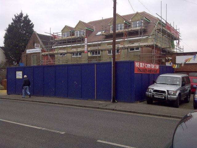 New flats, Belmont Road, Erith