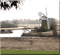 TG3618 : Turf Fen drainage mill by Evelyn Simak