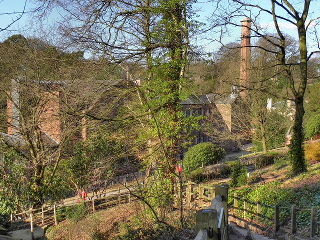 Path to Quarry Bank Mill
