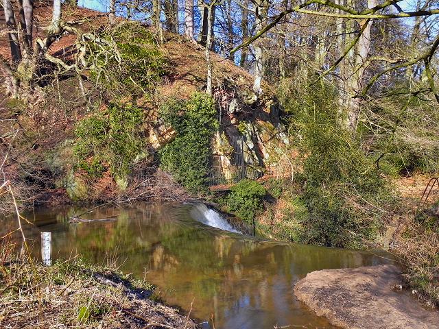 River Bollin at Styal