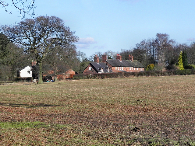 Cottages on Holt's Lane, Styal Village
