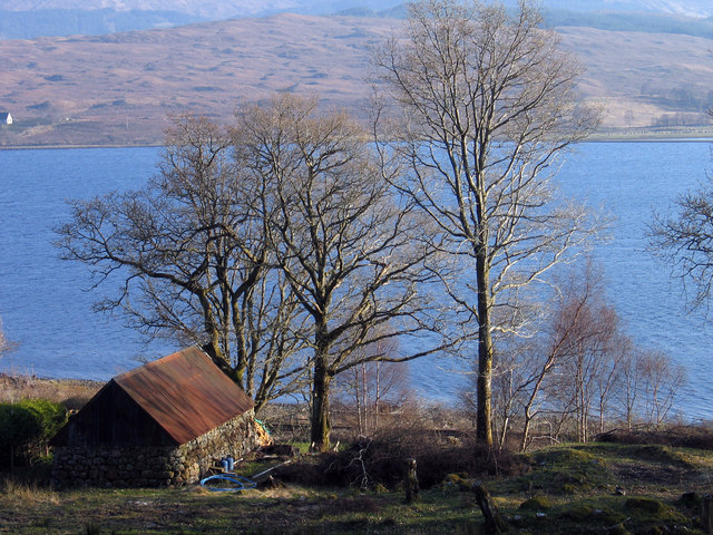 Barn below Alltdarroch Lodge