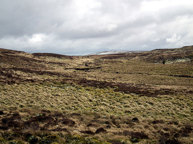 Looking south east towards Y Glog