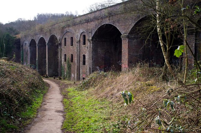 Railway Viaduct, Dr Newton's Way, Stroud