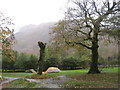 NY2805 : Tents at Langdale Camp Site by Les Hull