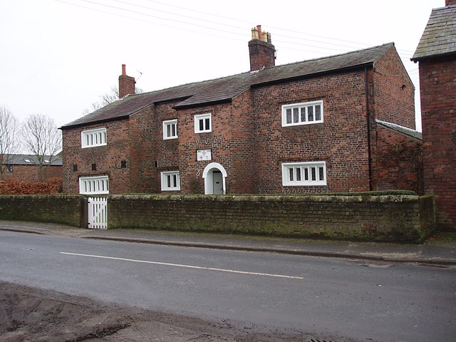 Farm house dated 1596 near Mercer Court