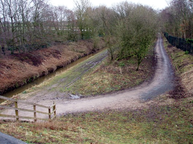 Trans Pennine Trail viewed from the B 5422