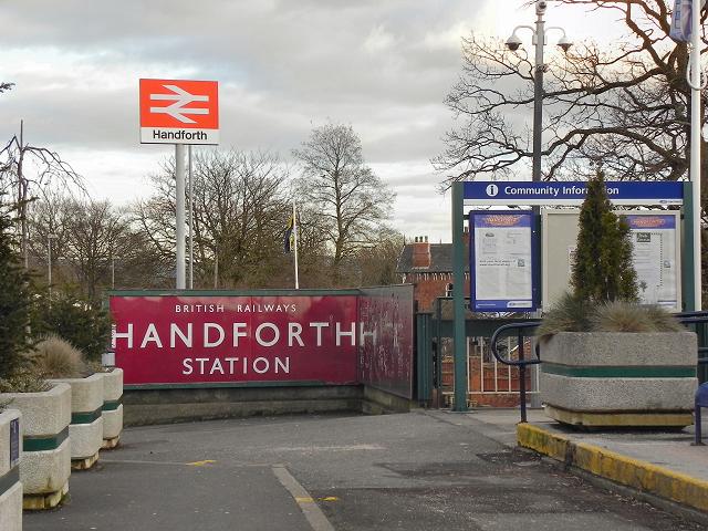 Handforth Station