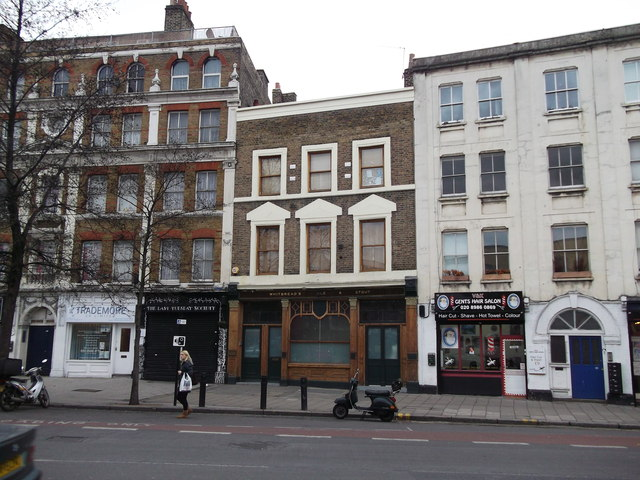 Formerly the Rose and Crown, Hackney