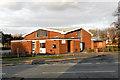 SJ8683 : St Benedict's Catholic Church, Handforth by David Dixon