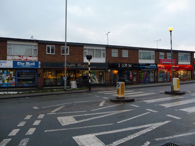 Shops on Rayleigh Road