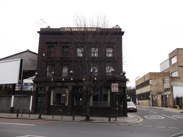 The London Fields, Public House, Hackney
