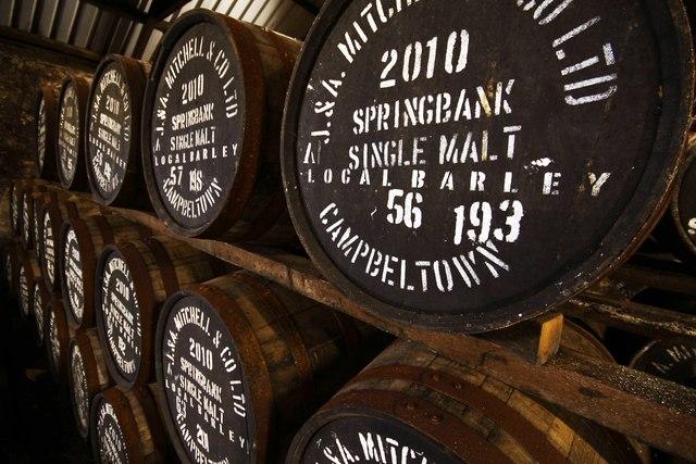 springbank distillery no 3 bond  u00a9 steve partridge cc