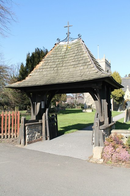 Lych Gate, All Saints' church, Swinderby