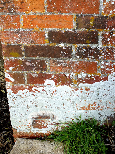 Benchmark on the gatepost