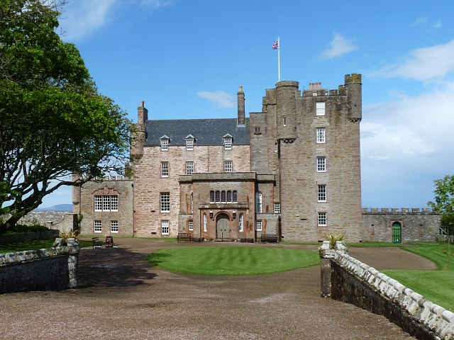 The Castle of Mey from the south
