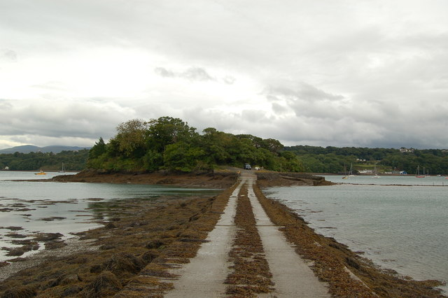 The Causeway to Ynys Castell