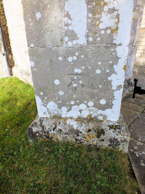 Benchmark on the church