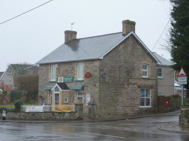 Coity: the post office