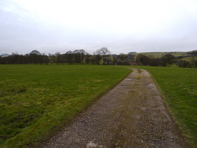 The track to Meadows Farm