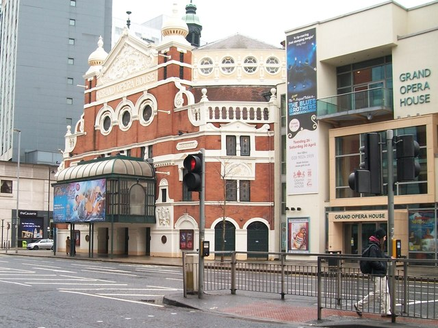 Belfast's Grand Opera House, Great Victoria Street