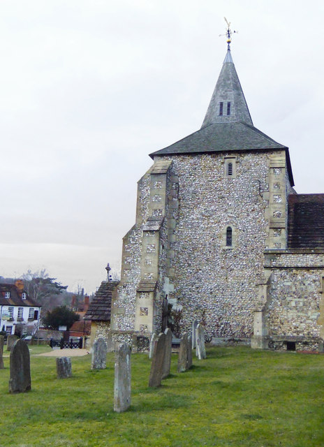Mickleham church and churchyard