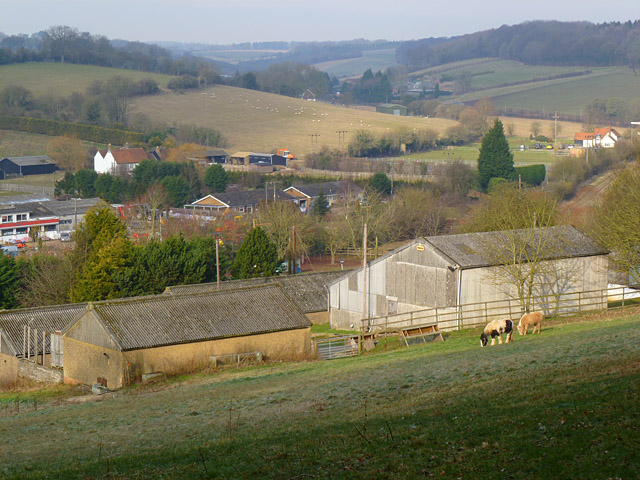Farm buildings, Chesham