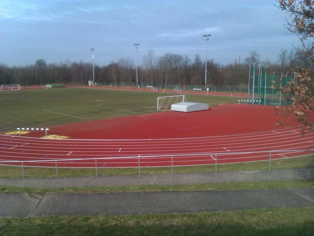 Athletics ground at Spectrum leisure centre