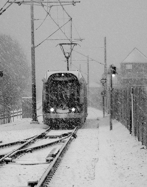 Nottingham Tram, Hucknall.