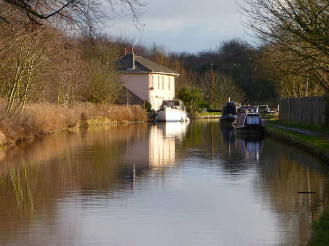 The Grand Union Canal, Berkhamsted
