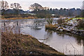 NJ8400 : Confluence of the Culter Burn with the River Dee by Alan Findlay