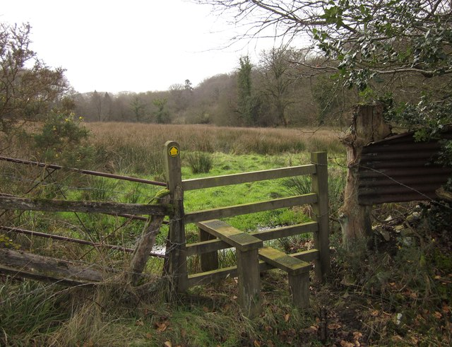 Stile in the Madford River valley