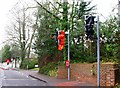 TQ3115 : Pedestrian crossing, lights not working, Hassocks by nick macneill