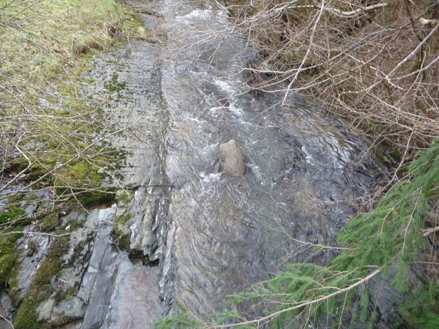 Part of the Afon Ystrad