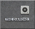 C9703 : 'The Diamond' sign, Portglenone by Rossographer