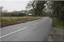 SJ8370 : B5392 Salters Lane, Siddington by Peter Turner