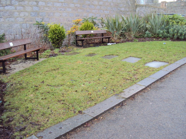 Benches at top Craigie Loanings