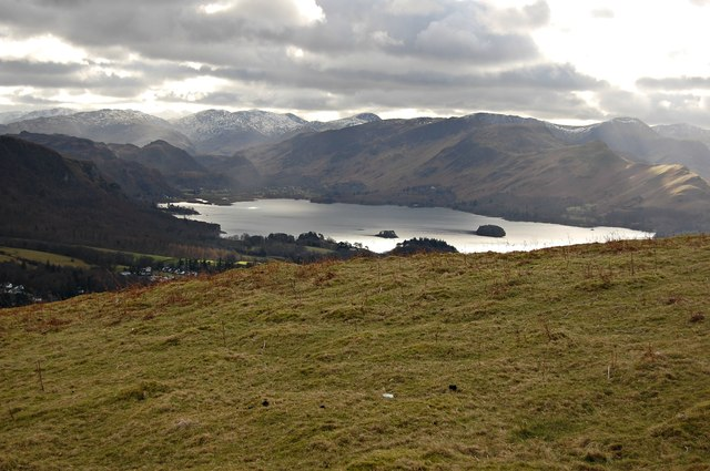 Latrigg - view to Derwent Water