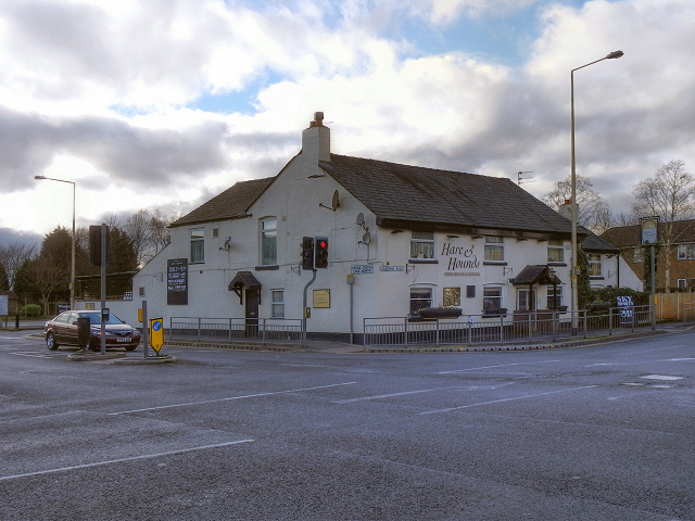 Hare And Hounds Lowton 169 David Dixon Geograph Britain