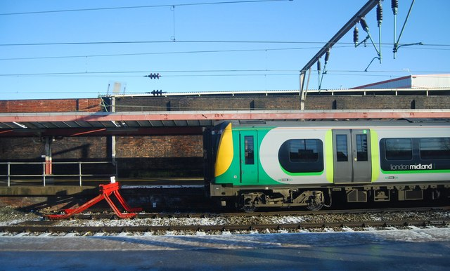 London Midland Train, Crewe